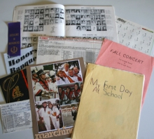 School memorabilia