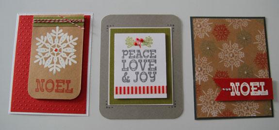 Noel cards