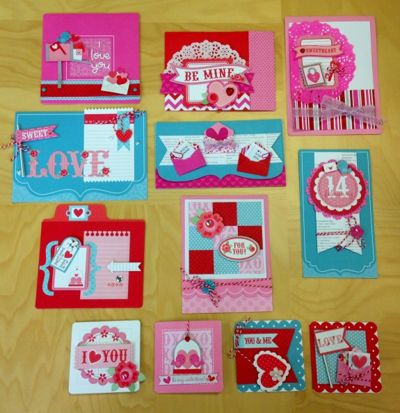 Valentine Value Card Kit