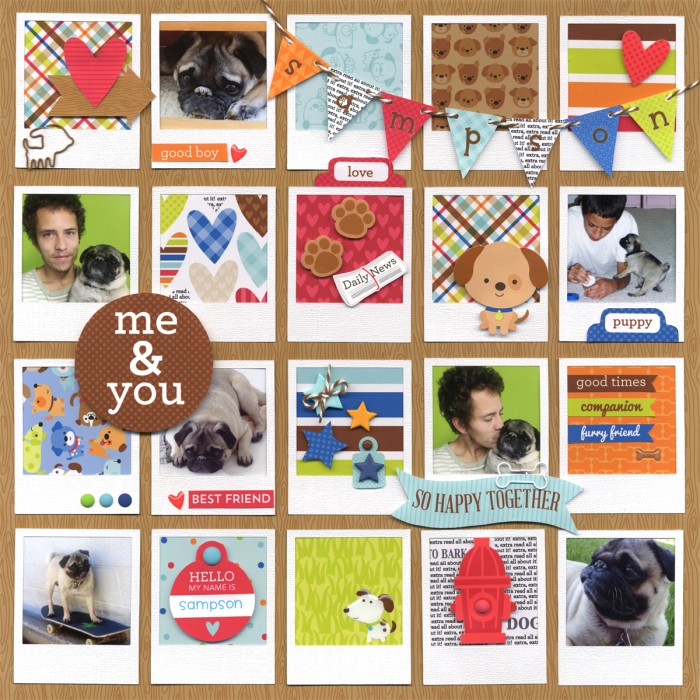 puppy love sample layout